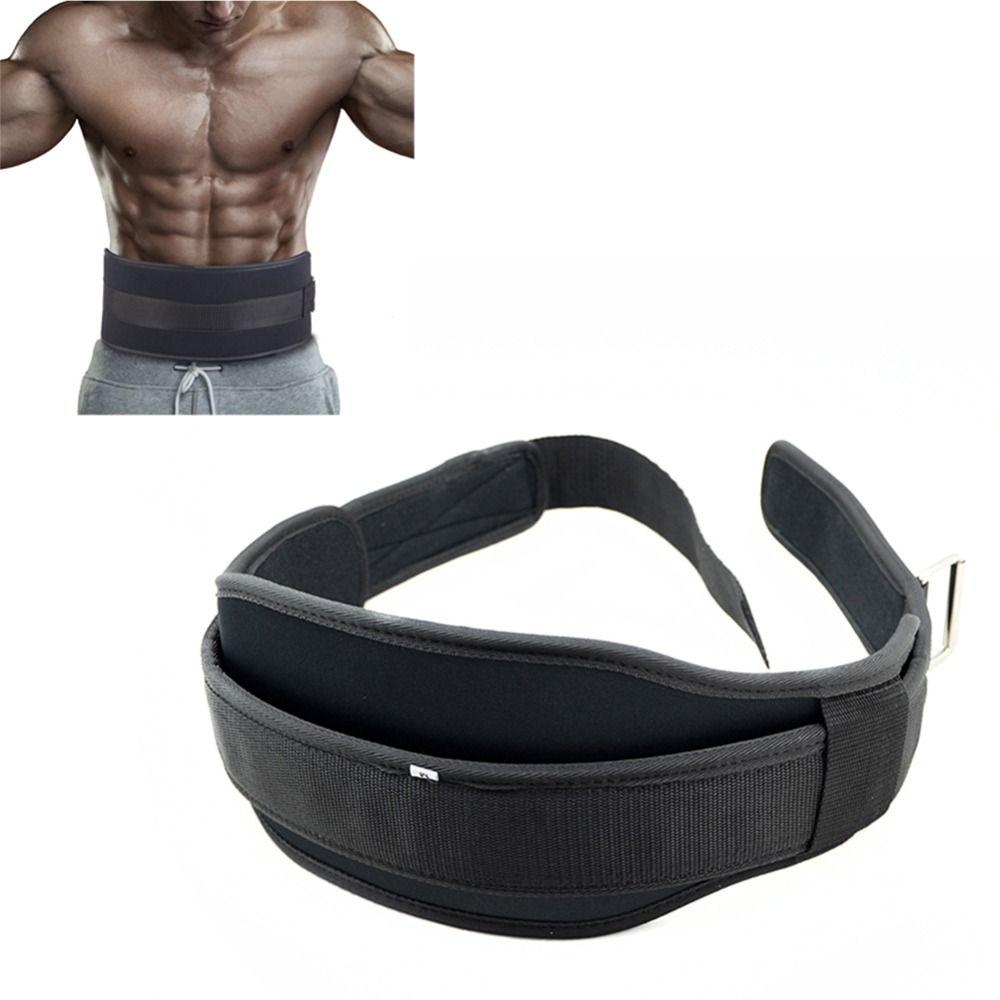 Haltérophilie Gym ceinture haltères Musculation Squat Dip entraînement ceinture Musculation Powerlifting taille protecteur équipement de gymnastique