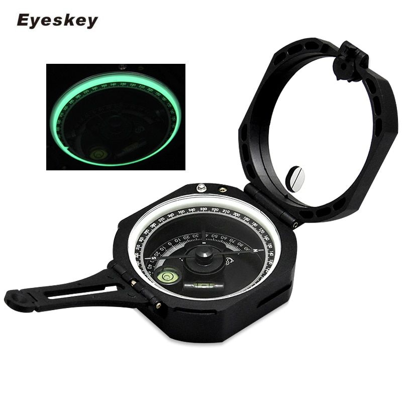 Eyeskey Professional Compass Lightweight Military Compass Outdoor Survival Cheap Camping Equipment Geological Pocket Compass