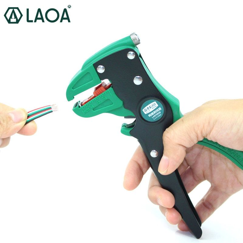LAOA pince à dénuder automatique universel bec de canard électrique pinces à dénuder câble pince à dénuder outils fabriqués à Taiwan