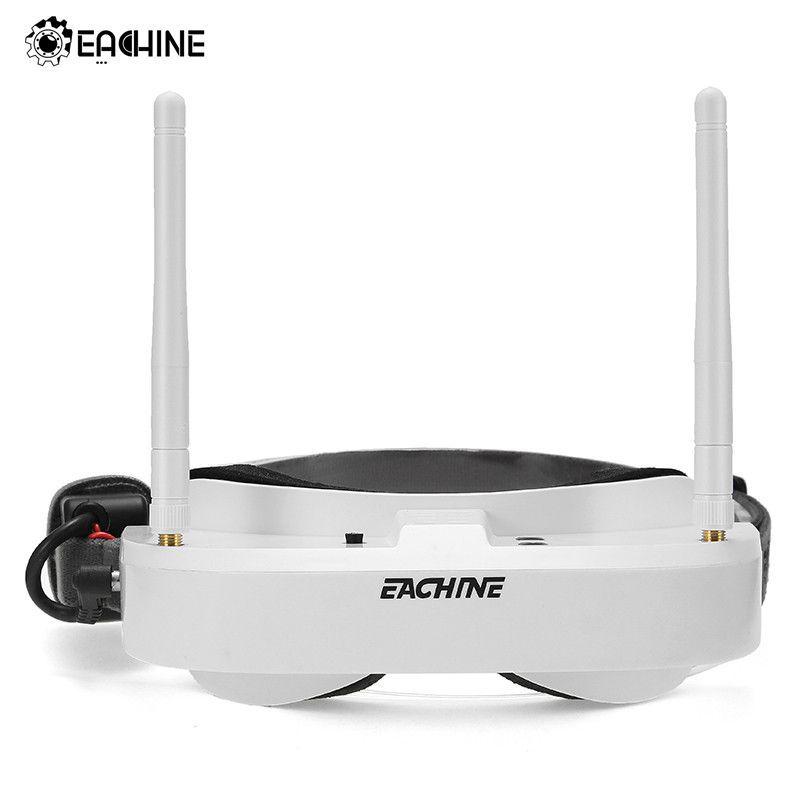 Original Eachine EV100 720*540 5.8G 72CH FPV Goggles With Dual Antennas Fan 7.4V 1000mAh Battery