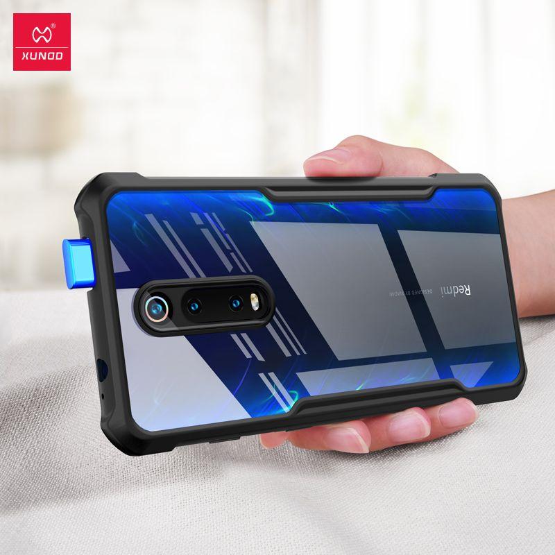 XUNDD Antichoc étui de téléphone pour xiaomi Rouge mi K20Pro mi 9T Pro Bague étui de protection Pour Rouge mi K20 mi 9T Note Pro 7 Avec Pare-chocs