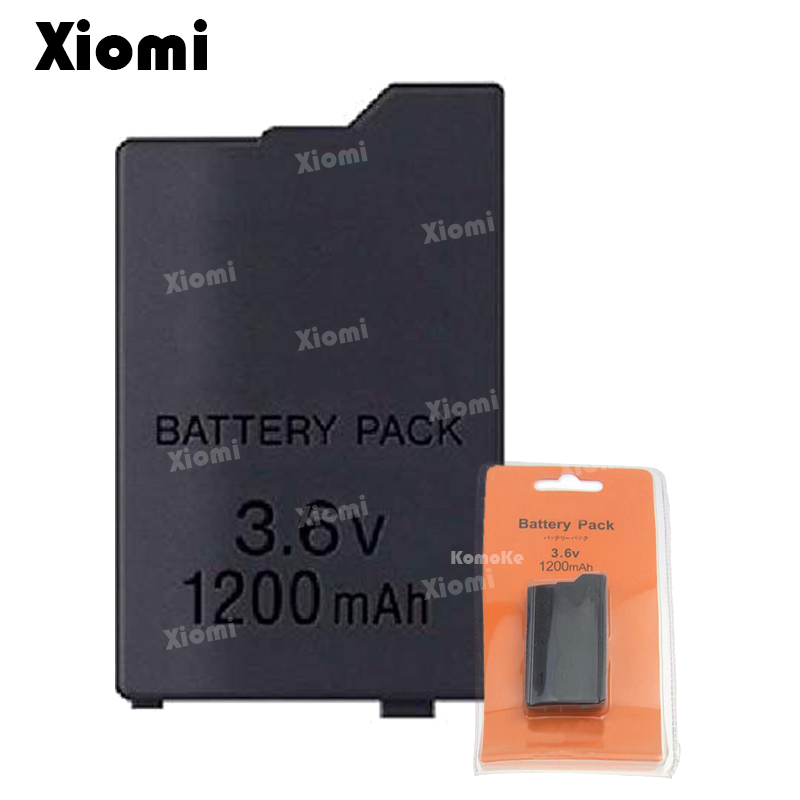 For Sony PlayStation Portable PSP 2000 2008 3000 3008 Slim Game Console 3.6V 1200mAh Rechargeable Battery Power Pack Replacement