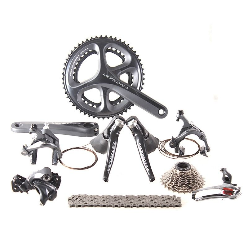 Shimano ULTEGRA 6800 2x11 22S Speed 53x39T 50x34T 170mm Road Bicycle Groupset Derailleur Kit