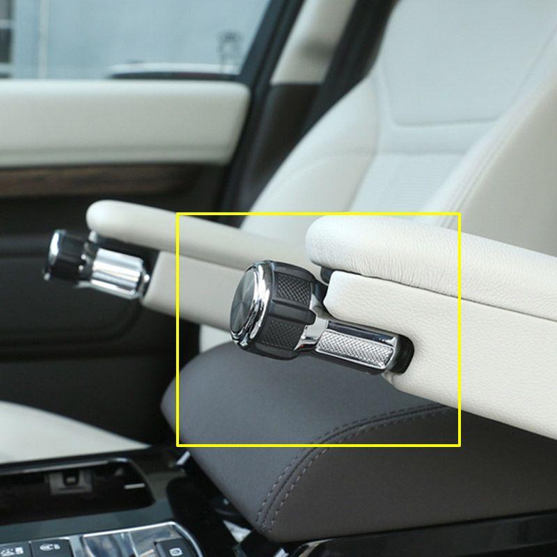 For Range Rover Vogue Sport L405 14-17 Alloy Seat Armrest Box Adjustment Konbs For Landrover Discovery 5 LR5 2017 Car Refitting