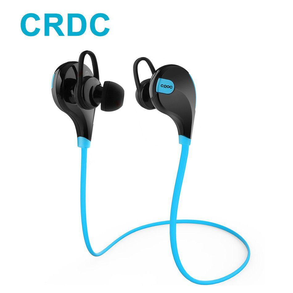 CRDC Sports Bluetooth Earphone Wireless Headset 4.1 In-Ears Stereo Music Earphone With Mic Handsfree Headphone For Xiaomi iPhone
