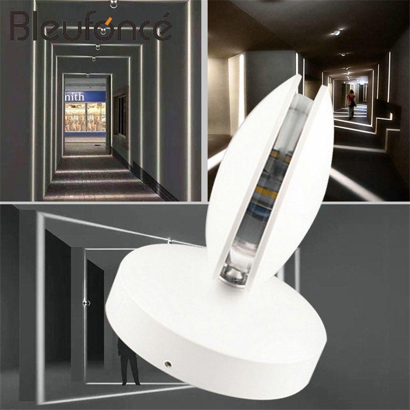 Moderne Tür Rahmen Licht Veranda Licht 9 watt LED Aluminium Wand Lampe Outdoor IP65 Wasserdicht Hause Kreative Garten Lichter BL21