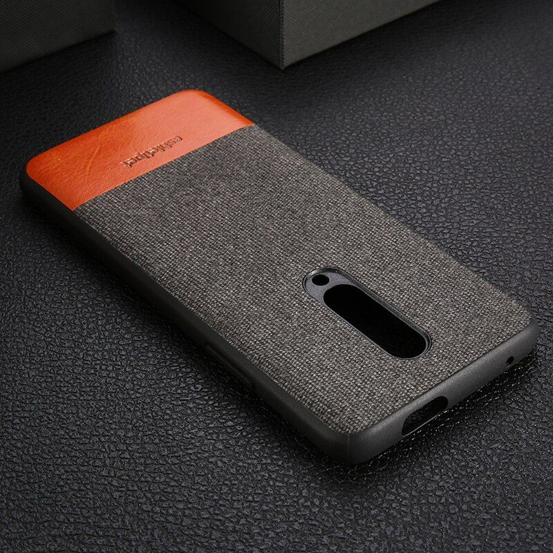 Men business Magnetic case for oneplus 7 Pro fabric shockproof Car Holder 1+6t case cover original one plus 6 6t 5 5t 7Pro case