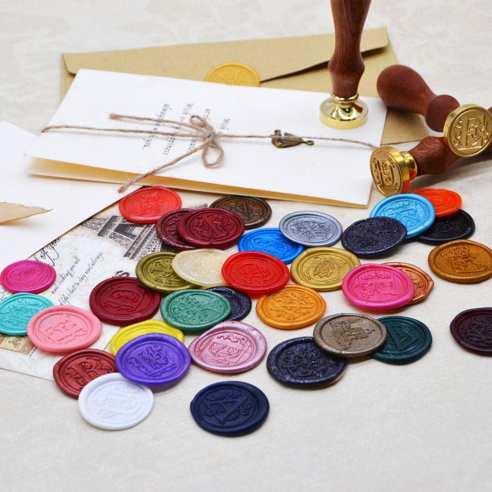 Custom Logo Security Stickers 500 pcs/Set Wax Seal Stickers Sealing Wax Stickers for Envelope Decoration DIY Wax Seal Sticker
