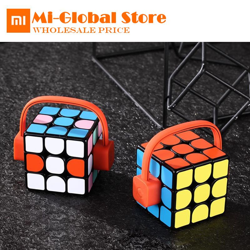xiaomi mijia Giiker super smart Rubik's <font><b>cube</b></font> App remote control Professional Magic <font><b>Cube</b></font> Puzzles Educational Toys for kid adult