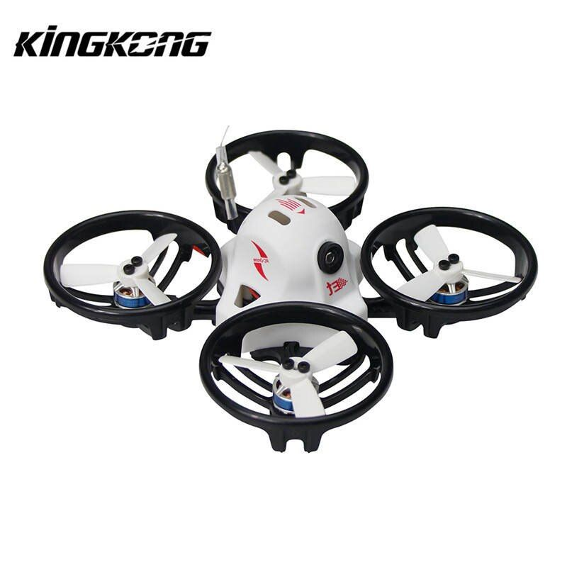 Kingkong ET Series ET125 125mm Micro FPV Racing Drone 800TVL Camera 16CH 25mW 100mW VTX RC Racer Multirotor Quadcopter BNF