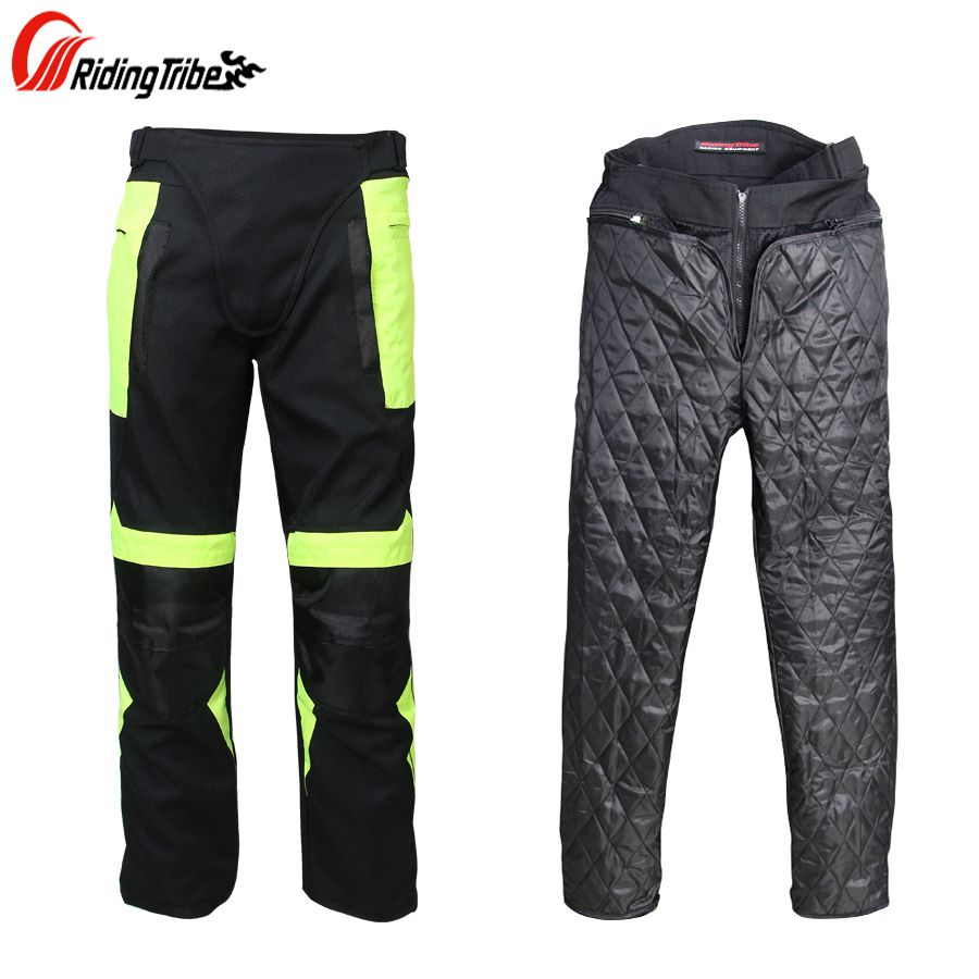 Riding Tribe Summer&Winter Motorcycle Pants Cold-proof Motorbike Motocross Riding Trousers Breathable Motos Protection Pants