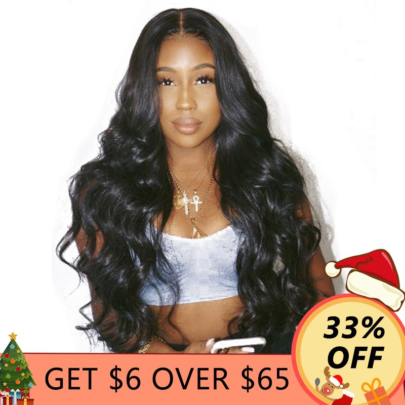 250% Density Pre Plucked Full Lace Human Hair Wigs For Women Black Brazilian Glueless Full Lace Body Wave Wig Ever Beauty Remy