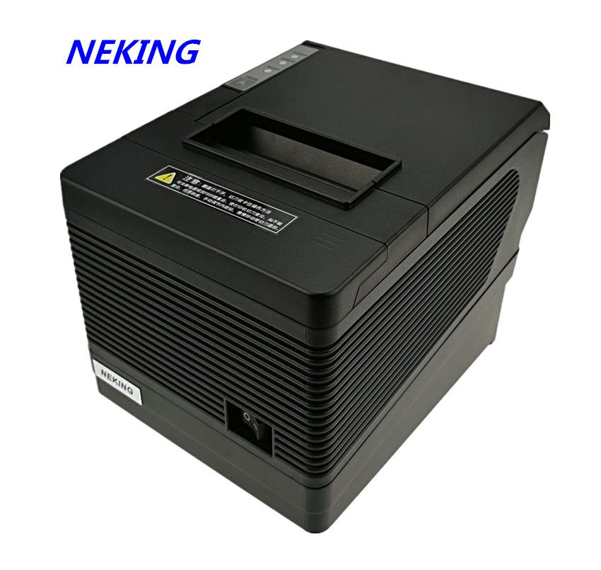 USB Ethernet Serial Three ports are integrated in one printer 80mm thermal POS printer receipt bill printer automatic cutting