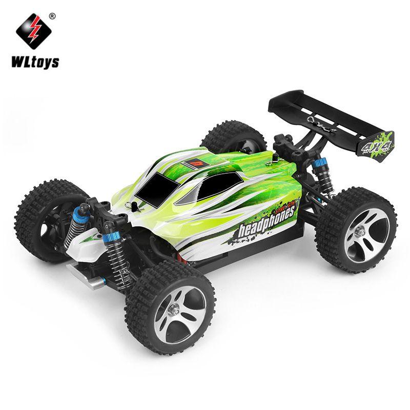 WLtoys RC Voiture De Course 4WD 1:18 SUV Avec 70 km/heure A959-B À Distance contrôle De Voiture 2.4 GHz Haute Vitesse RC Électrique Voiture Jouet Cadeau pour enfants