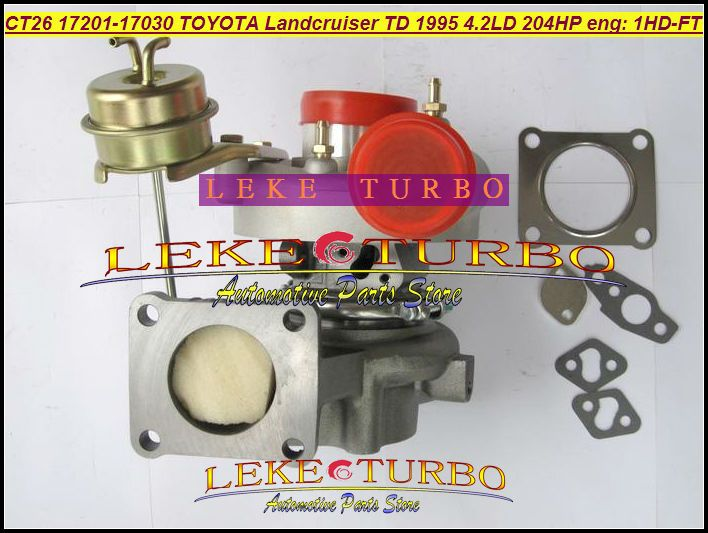 CT26 17201-17030 17201 17030 1720117030 Turbo Turbine Turbolader Für TOYOTA Landcruiser Land cruiser 95 1HD 1HD-FT 4.2L 1 HDFT