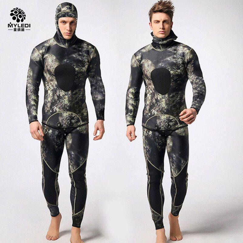 Diving suit neoprene 3mm men pesca diving spearfishing wetsuit surf snorkel swimsuit Split Suits combinaison surf wetsuit DHL3-7
