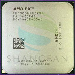 AMD FX-Serie FX6300 3,5 GHz SECHS-Core CPU Prozessor FX 6300 FD6300WMW6KHK 95 Watt Sockel AM3 +