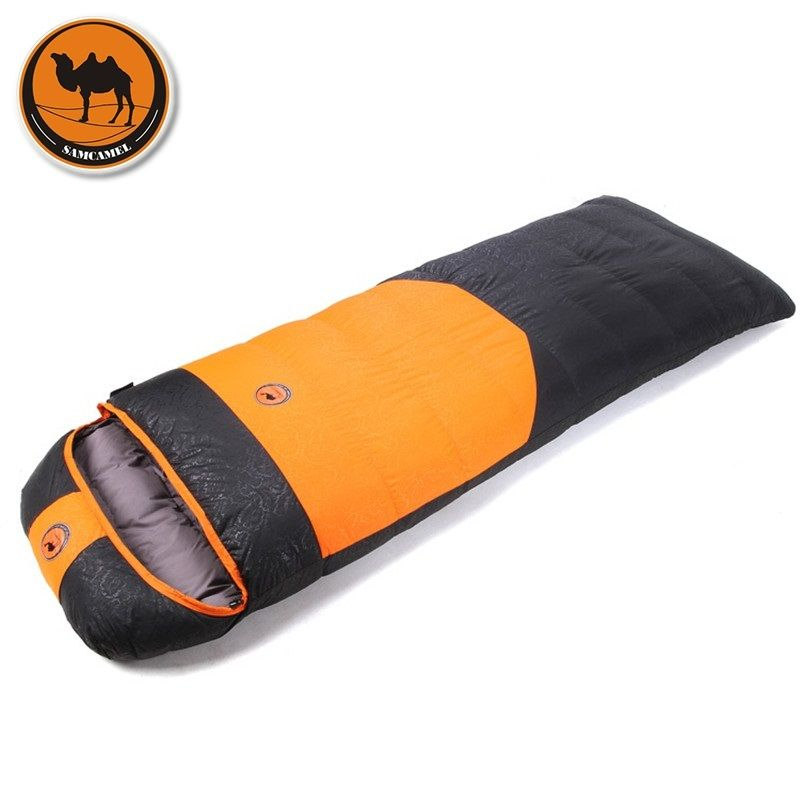 Camcel ultralight camping sleeping bag envelope white duck down sleeping bag compression sleeping bag 1500/1700/1900g