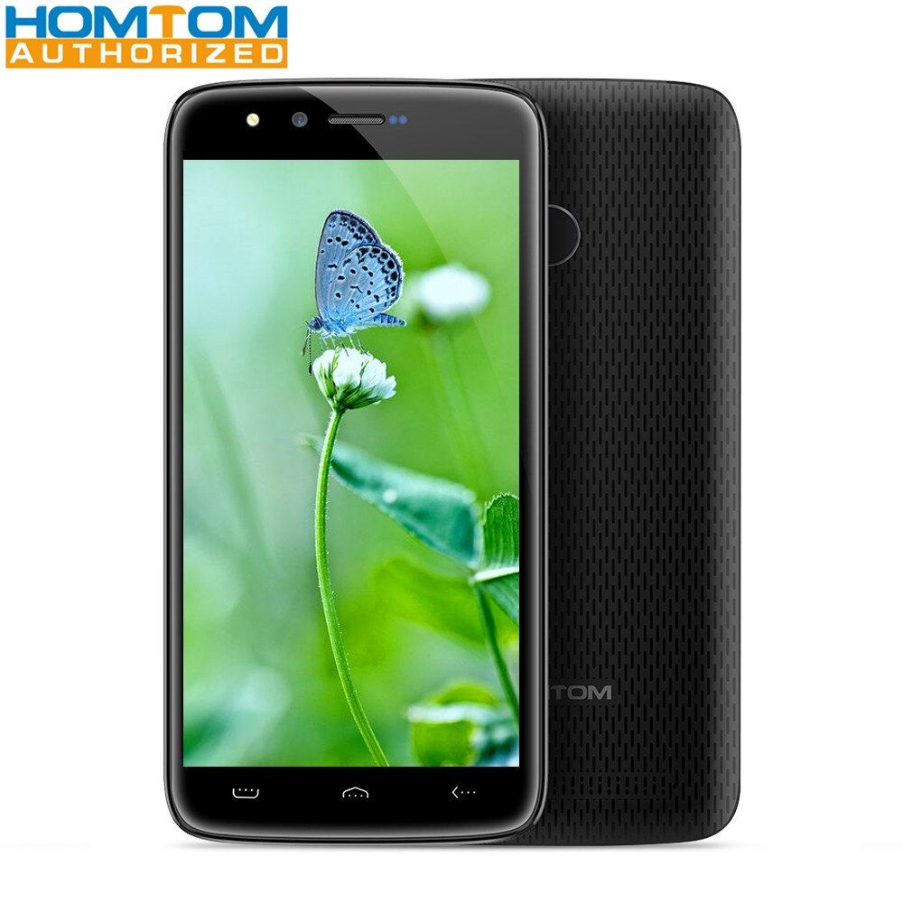HOMTOM HT50 5.5 inch Screen Mobile Phone 3GB RAM 32GB ROM MTK6737 Quad Core Android 7.0 8MP Camera 5000mAh Smartphone