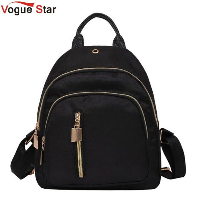 2018 Brand Fashion Feminina Mujer Mochila Women Female Backpack Nylon School Girls Teenagers Mini Small Bagpack  LB564