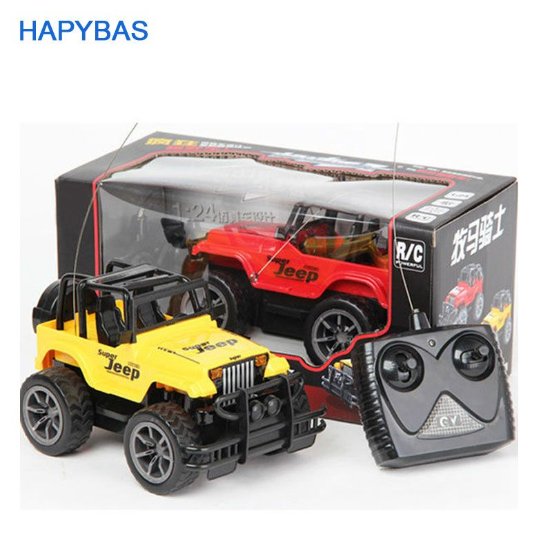 Super Toys 1:24 Jeep large remote control cars 4CH remote control cars toys rc car electric for kids gift