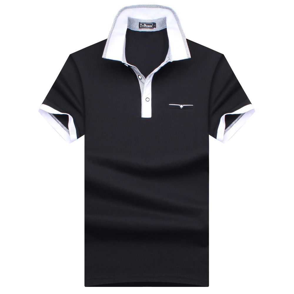 Grande taille S-10XL! 2019 nouvelle marque de mode 95% coton mercerisé hommes Polo chemise d'été à manches courtes Polos chemise hommes chemise solide