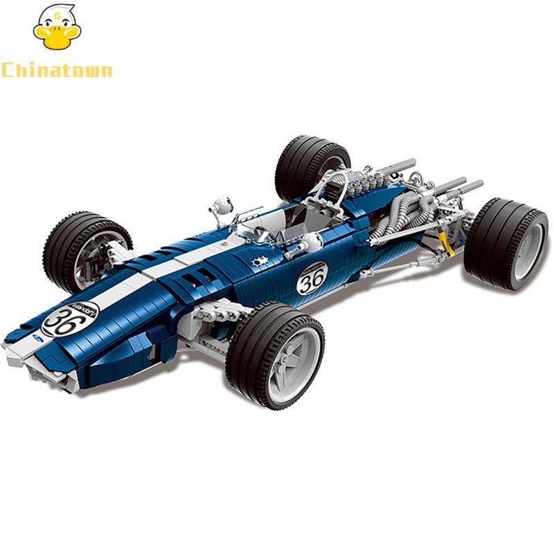 XINGBAO Moc Exclusive Technic Grand Prix Racer F1 Racing Car Building Blocks Bricks Model Kids Toys Marvel Compatible Legoings