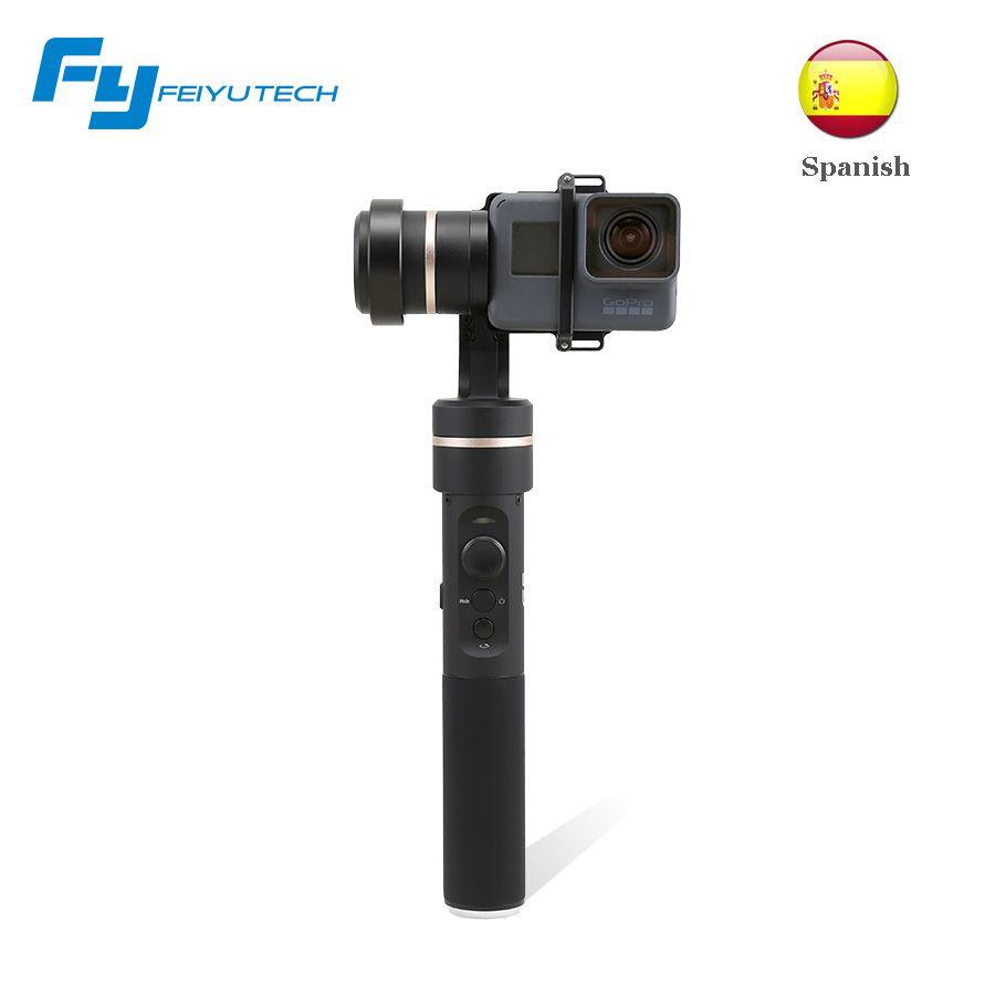 FeiyuTech G5 spritzwassergeschützt gimbal 3-achsen handheld gimbal stabilizer für gopro 5 Yi cam 4 Karat AEE andere kameras action kamera