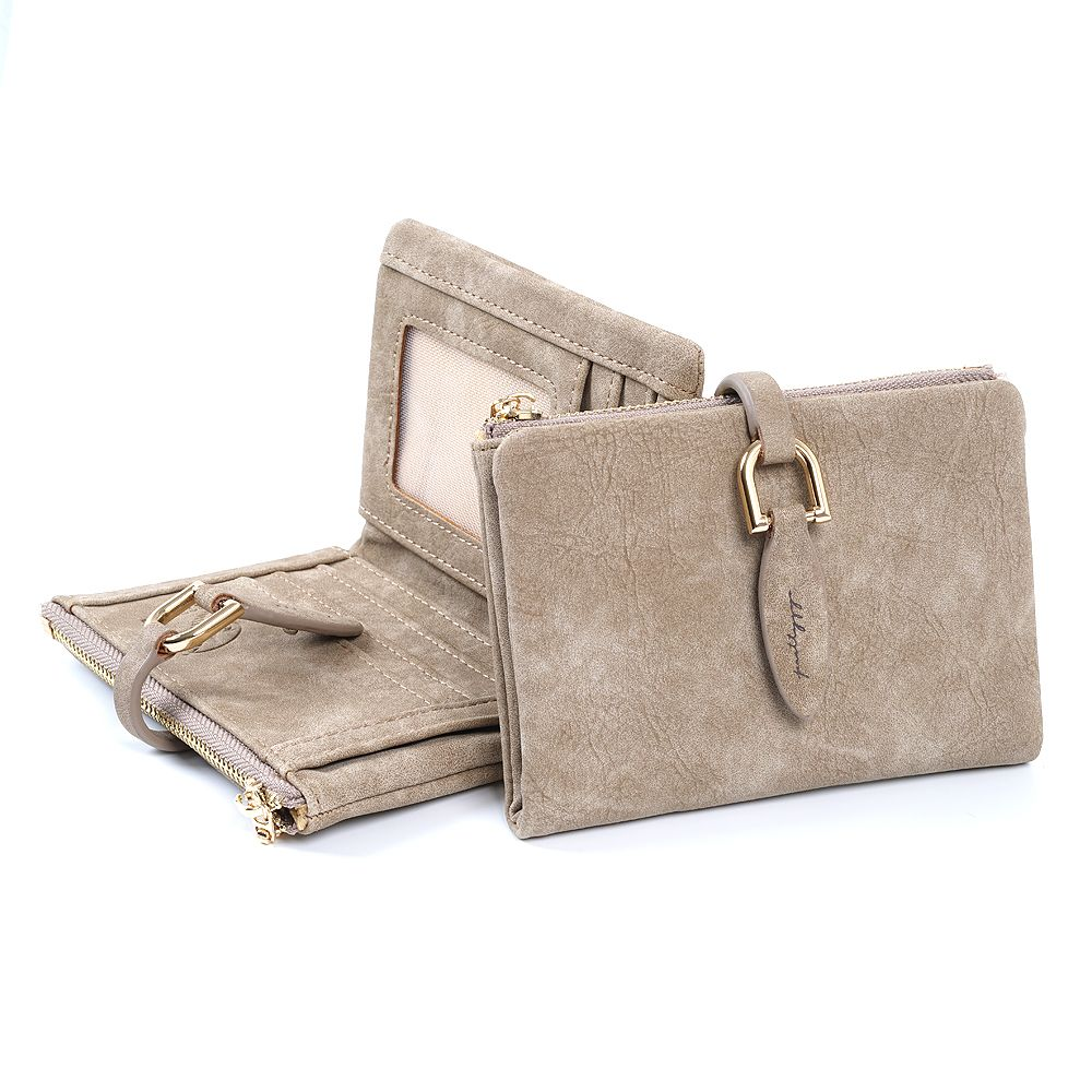 2017 Fashion Women Short Purses PU Leather Female Wallet Perse Card Holder Coin Money Bag Soft Dollar Price Ladies Wallet <font><b>Small</b></font>
