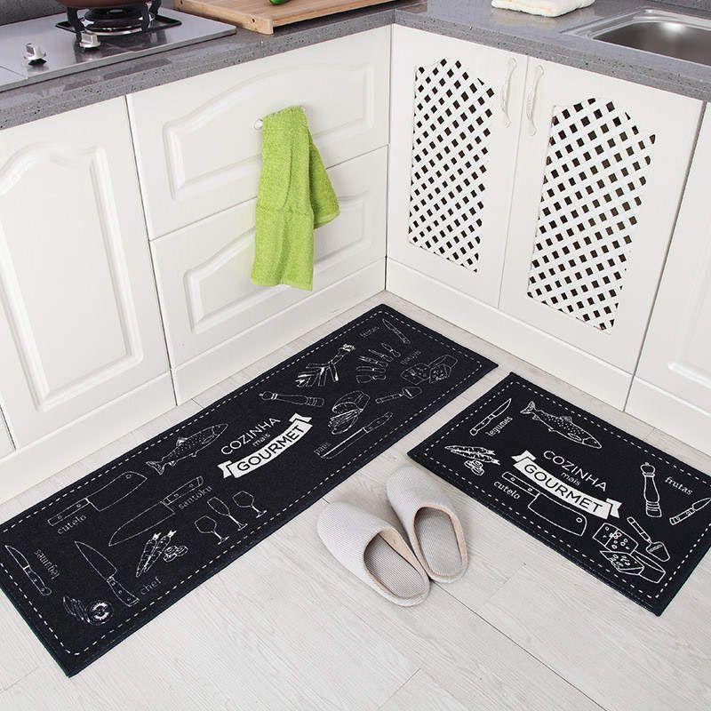 Bathroom Doormat Floor Mat Anti-slip Water Absorption Carpet Kitchen Mat Door Mat Kitchen Floor Mat Carpet Toilet Rug Porch Door