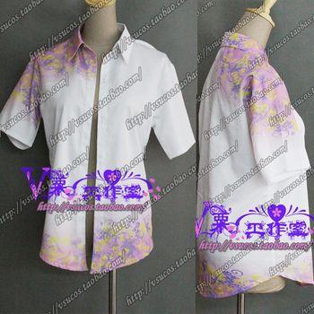 Custom Made Hotarubi no Mori e gin Cosplay Costume COS Print Shirt Any Size