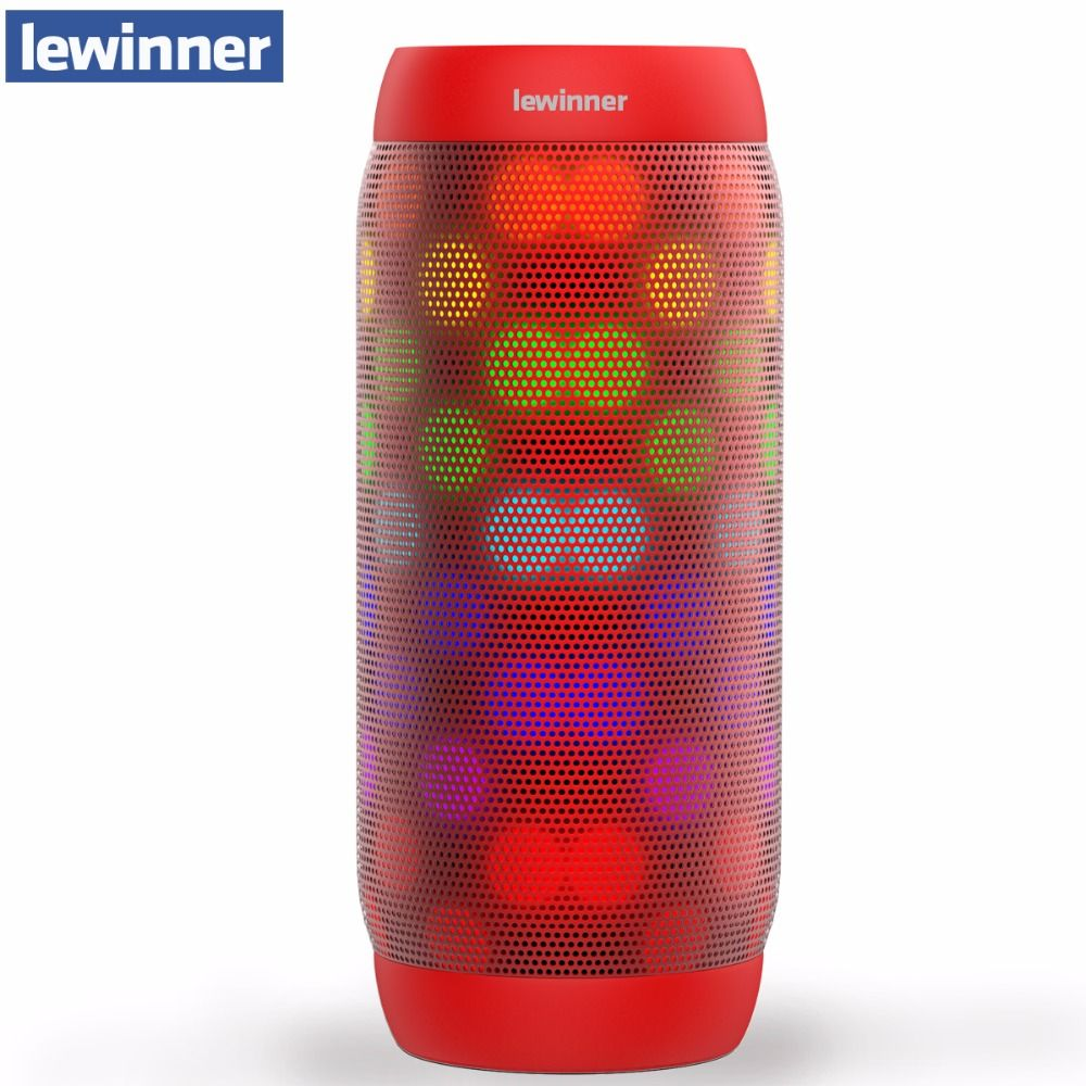 lewinner BQ-615 pro Bluetooth Speaker Wireless Stereo Mini Portable MP3 Player Pocket Audio Support Handsfree TF Card AUX-in