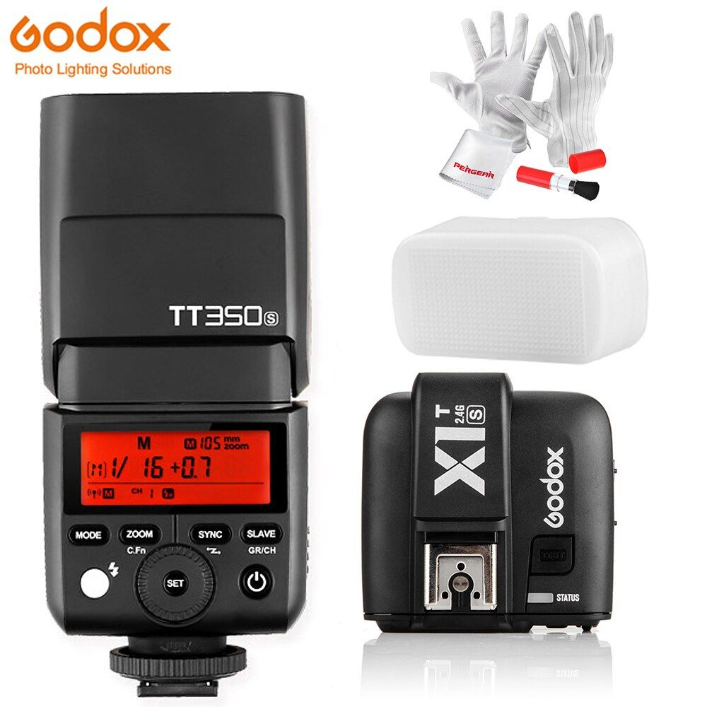 Godox TT350S lumière Flash pour appareil photo TTL HSS 1/8000 s 2.4G Speedlite pour appareil photo Sony Sony sans miroir a7RII a7R a58 a99 ILCE6000L a77II