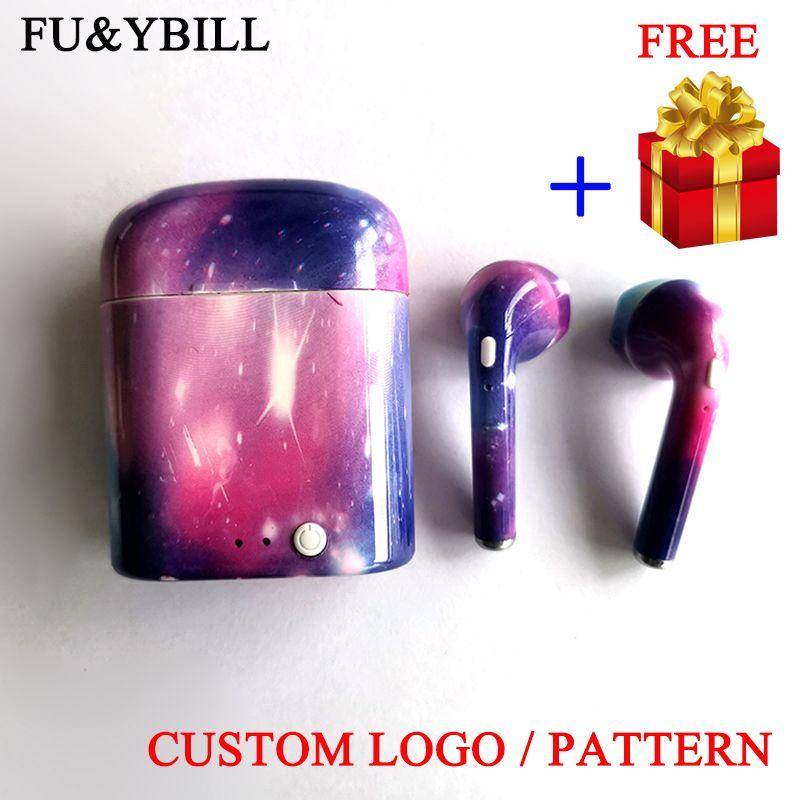 Fu & y Bill produit personnalisé Bluetooth écouteurs jumeaux Bluetooth V4.2 stéréo casque écouteur pour tous Bluetooth fonction smartphone