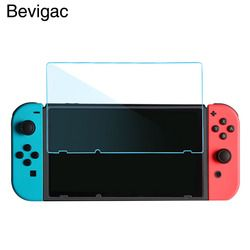 Bevigac 2 PCS En Verre Trempé Anti-Scratch Haute Définition Mince Écran Protecteur Film Housse De Protection pour Nintendo Commutateur NS NX