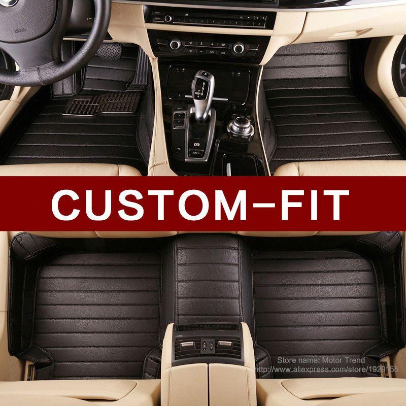 Custom fit car floor mats for Mercedes Benz A B180 C200 E260 CL CLA G GLK300 ML S350/400 class 3D car styling carpet floor liner
