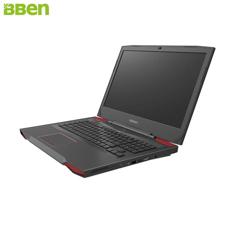 BBEN Laptop Gaming Computer Intel i7 7700HQ Kabylake GDDR5 NVIDIA GTX1060 Windows 10 RGB Mechanical Keyboard HD Camera Laptops