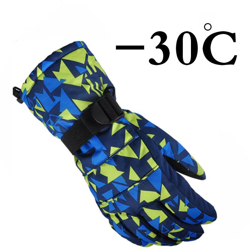2015 Winter outdoor sport Mountain Ski Handschuhe windstopper wasserdichte warme snowboard Unten Zerochildren ski Handschuhe männer frauen