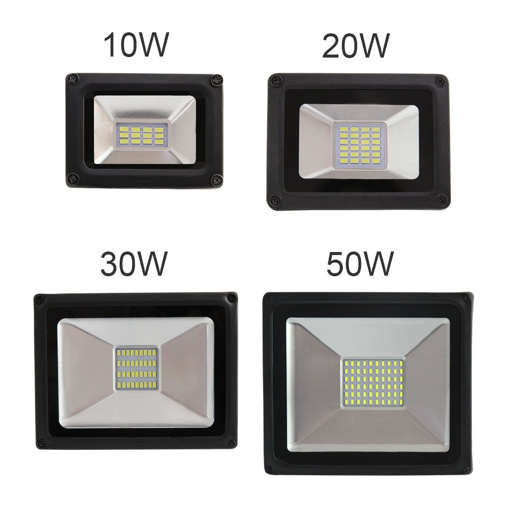 2017 Toughened glass panel new style advanced waterproof Shockproof 10W 20W 30W 50W SMD ip65 outdoor lamp high power <font><b>flood</b></font> light