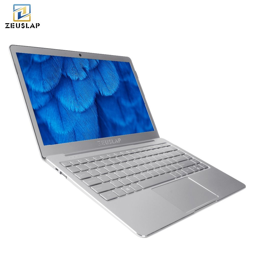 13.3inch 8GB Ram+256GB SSD Gemini Lake Quad Core CPU Windows 10 System 1920*1080P Full HD Ultrathin Laptop Notebook Computer
