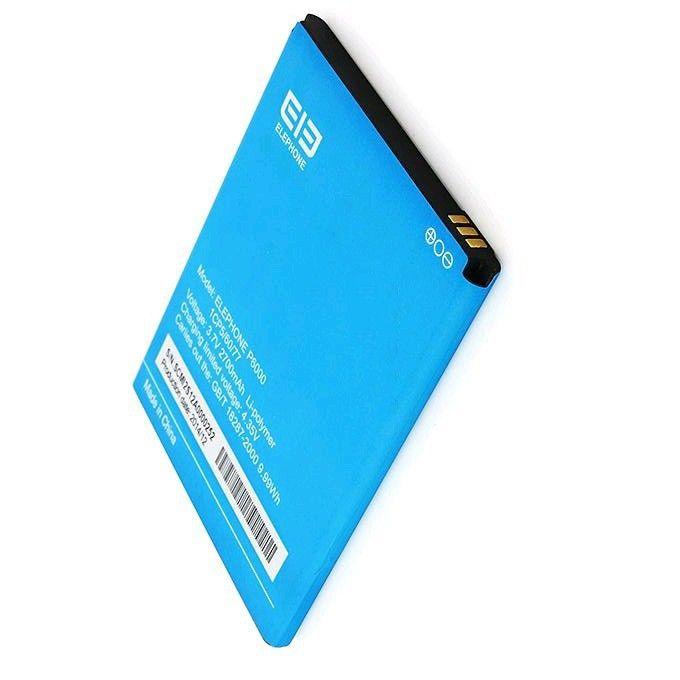 Neue 100% Original-akku für Elefon P6000 Wiederaufladbare 2700 mAh Unterstützungsbatterie für Elefon P6000