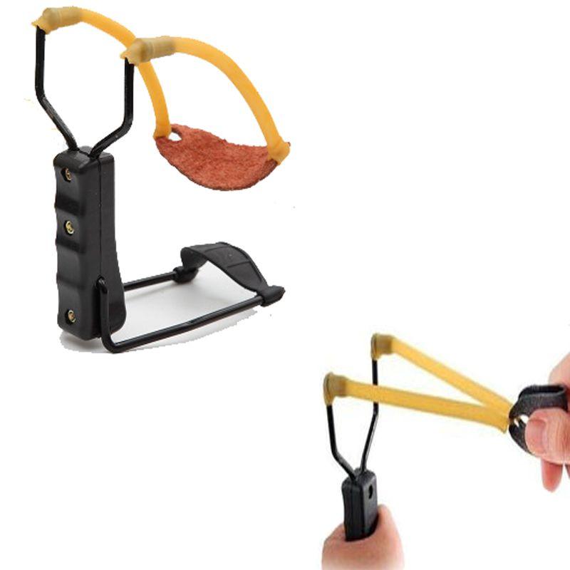 Tragbare Einfache Schleudern Falten Handgelenkstütze Unterstützung Shot Slingshot Bogen Katapult Außen