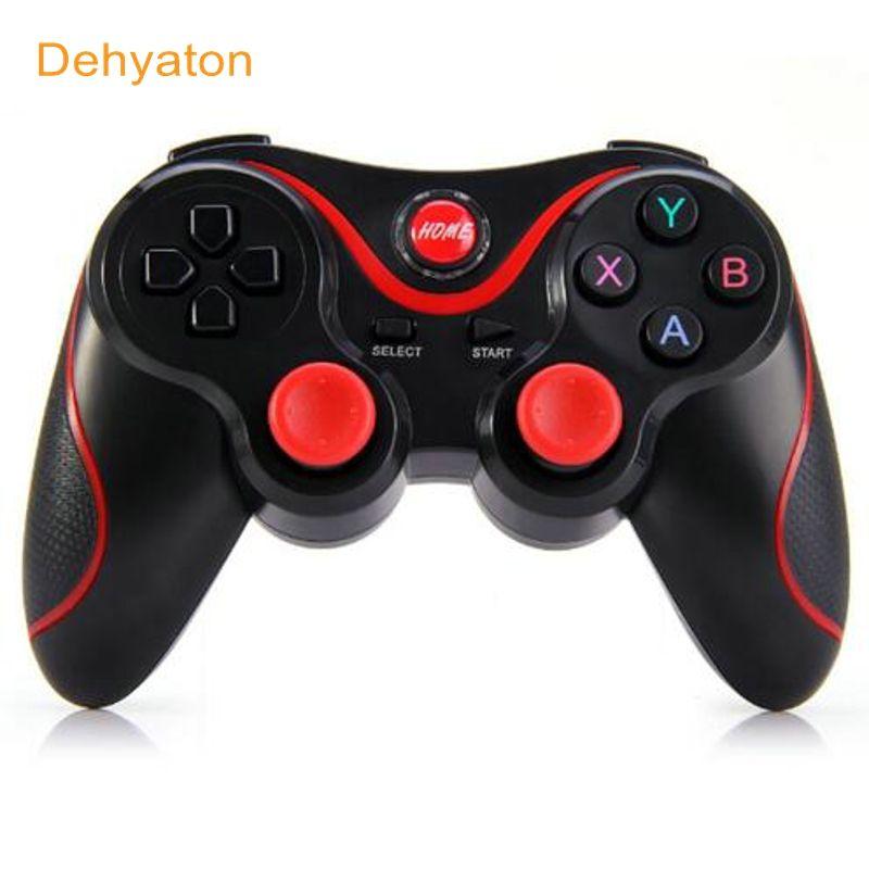 D'origine T3 Sans Fil Bluetooth Gamepad Télécommande Joystick Jeu PC Contrôleur pour Smartphone/Tablet PK S3 Contrôleur paquet