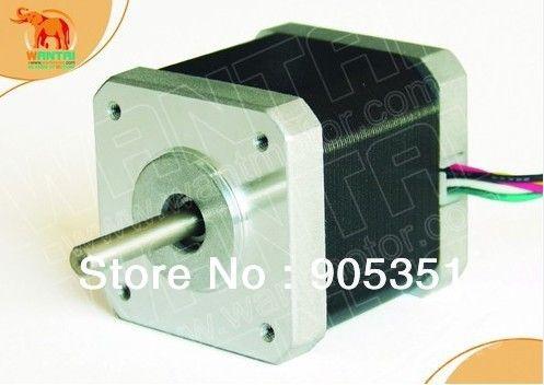 CNC Nema17 for 1.7A, 4200g.cm, 48mm length, 2-Phases,0.9 degree Wantai Stepper Motor