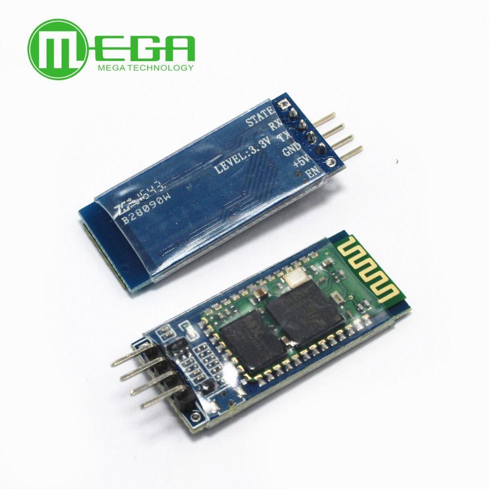 Original HC-06 HC06 JY-MCU BT BORD V1.05 4pin Bluetooth serielle pass-durch drahtlose serielle kommunikation modul Gute qualität