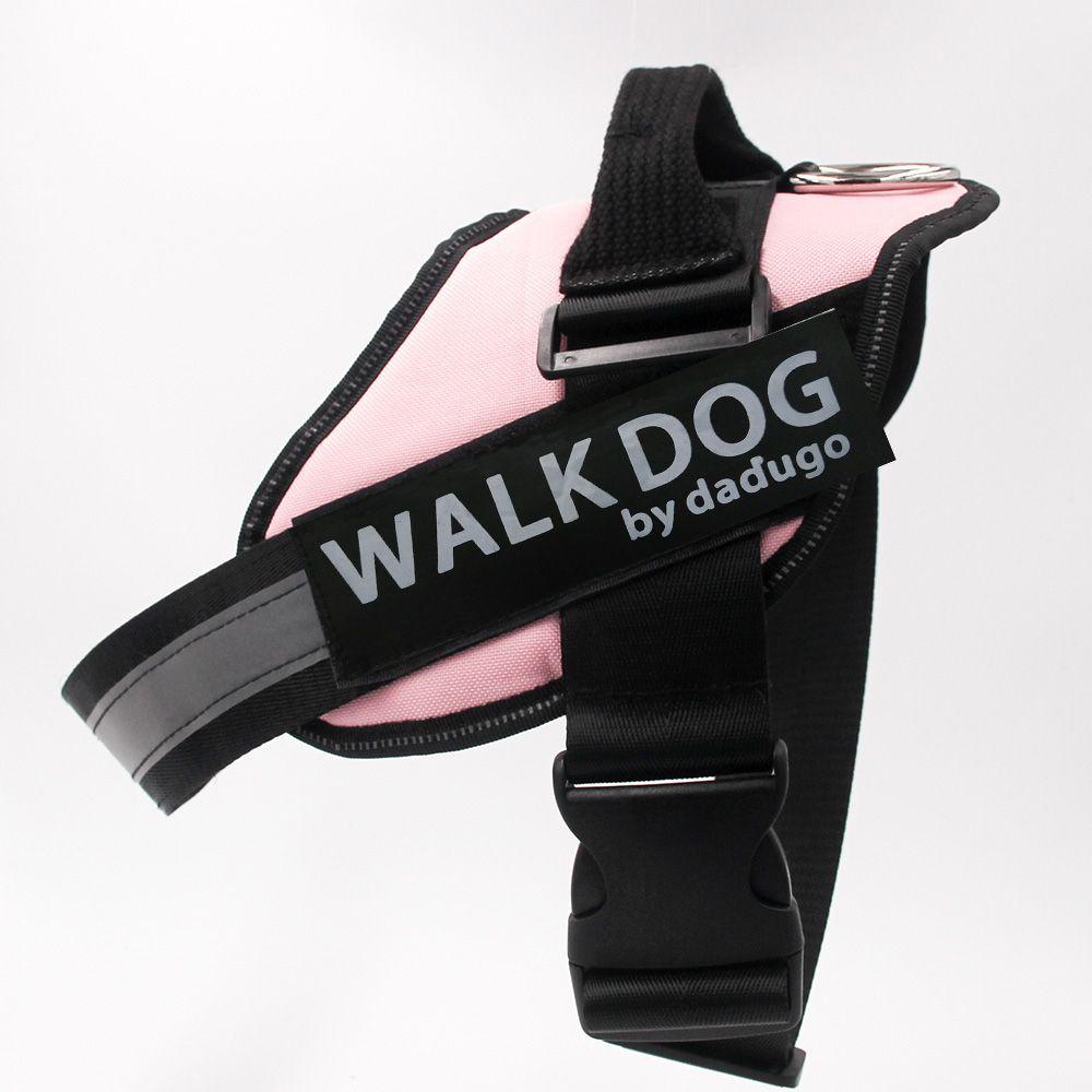 Dadugo harnais pour chien harnais réfléchissant réglable chien harnais xs/s/m/l/xl/xxl taille 6 couleurs livraison directe