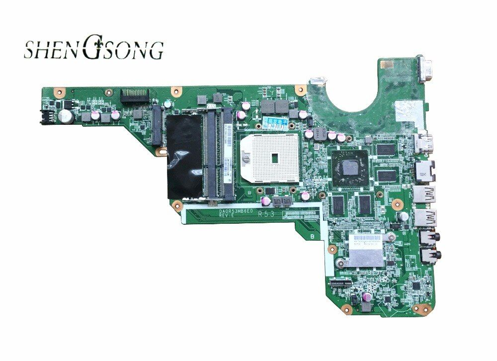 683030-501 freies Verschiffen Ursprüngliche G4 G6-2000 G6 Motherboard 683030-001 DA0R53MB6E0 DA0R53MB6E1 HD7670/1G 100% vollständig getestet