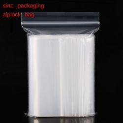 Extra Heavy-Duty Différentes Tailles Refermable En Plastique Emballage Sacs à Fermeture Zip Poly sacs Zipper Clair Ziplock sacs (pack de 100)