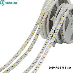 DC12V 5050 Светодиодные ленты Водонепроницаемый RGBW гибкий свет 60LED/M Водонепроницаемый IP20/IP65 RGB + белый/+ теплый белый Клейкие ленты для украшения