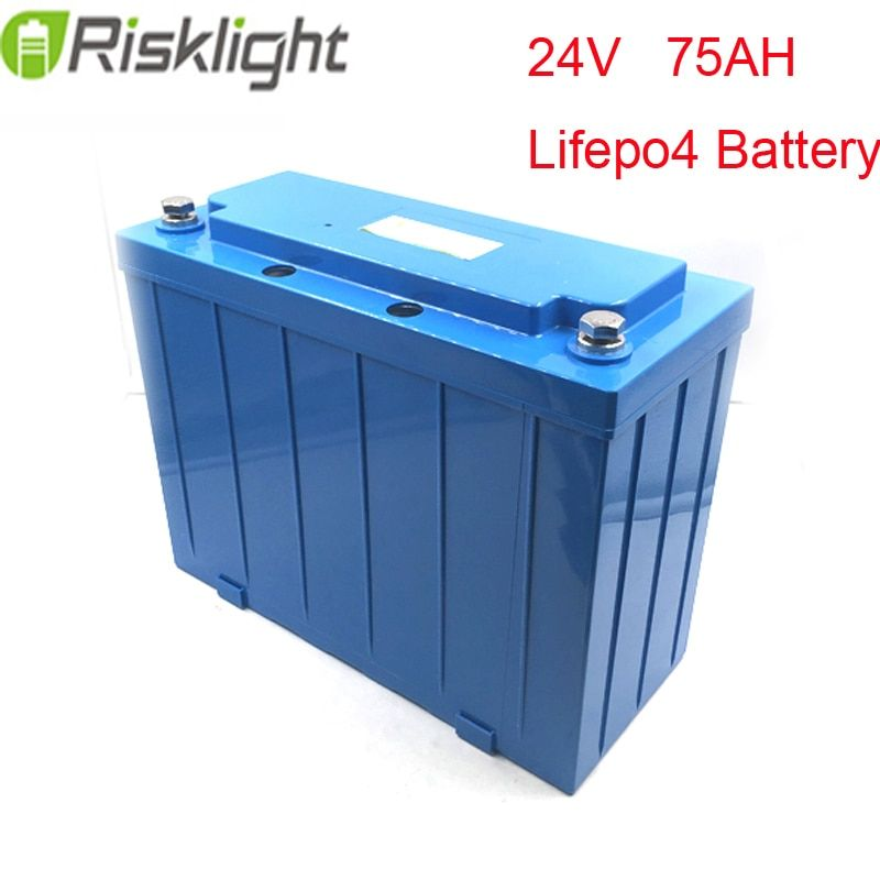 ebike lithium battery 24V 75Ah LiFePO4 green saver ev scooters /electric motorcycle recharge li-ion battery pack
